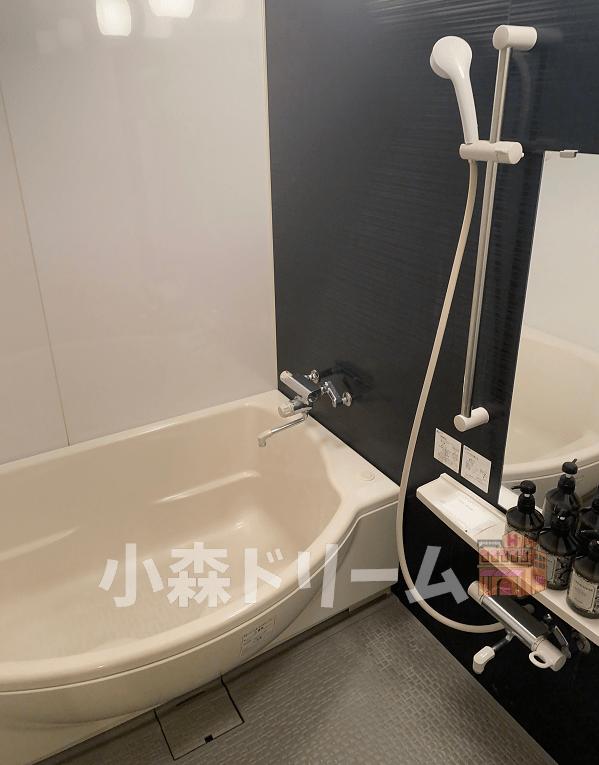 ホテルのシャワー室
