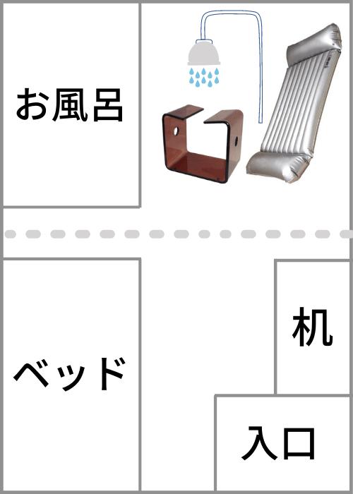吉原王室のプレイルーム図
